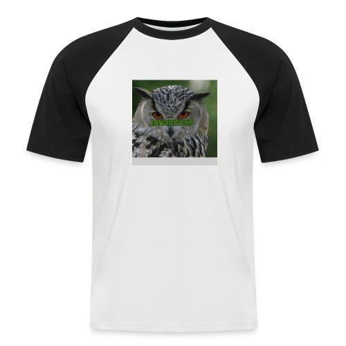 JohannesB lue - Kortermet baseball skjorte for menn