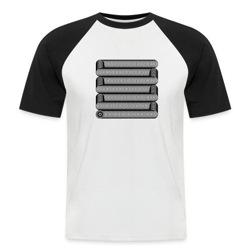 Wavesnake - Mannen baseballshirt korte mouw