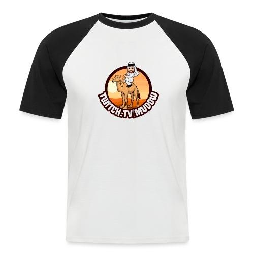 mudowdesign - Kortærmet herre-baseballshirt