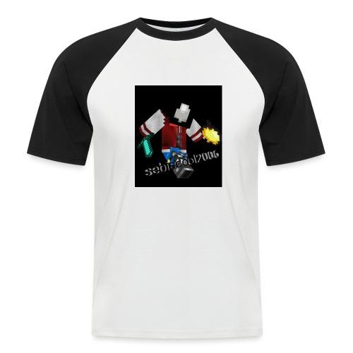 Sebastian yt - Kortærmet herre-baseballshirt