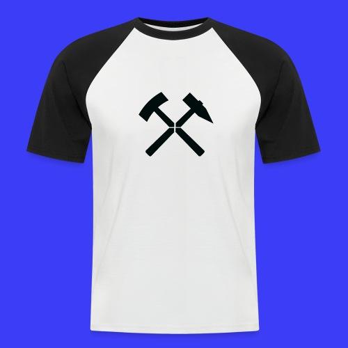 Pałki żelazne - Koszulka bejsbolowa męska