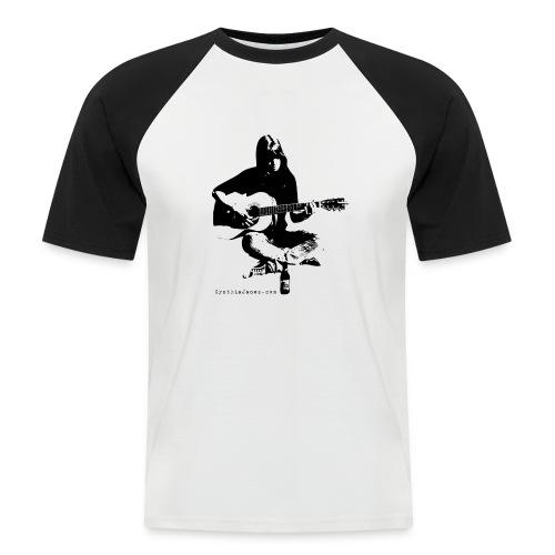 Cynthia Janes guitar BLACK - Men's Baseball T-Shirt