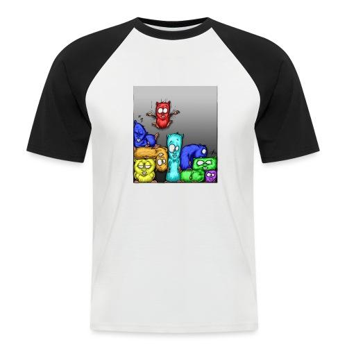 hamstris_farbe - Männer Baseball-T-Shirt
