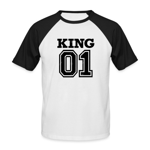 King 01 - T-shirt baseball manches courtes Homme