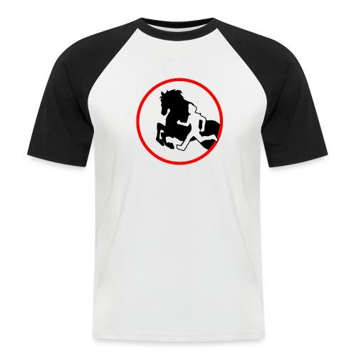 Horse Agility Logo - Männer Baseball-T-Shirt