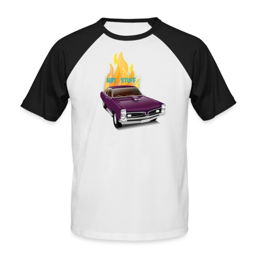 Hot Stuff - Männer Baseball-T-Shirt