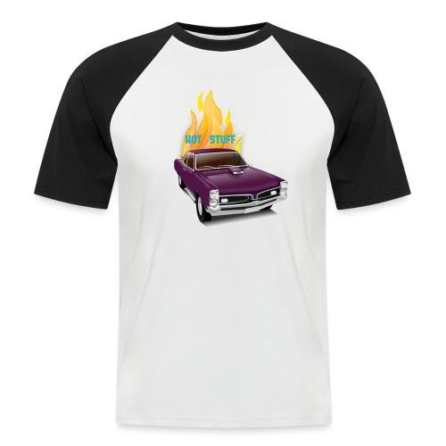 Hot Stuff - Männer Baseball-T-Shirt
