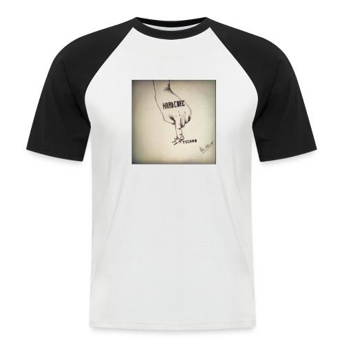 DerHardstyle.ch Hard_Core Techno - Männer Baseball-T-Shirt