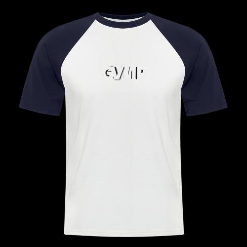 Kurz im Kopf - Männer Baseball-T-Shirt