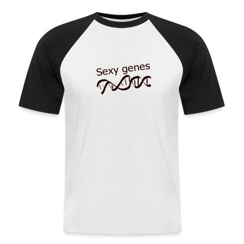 Sexy genes - Genetics - Men's Baseball T-Shirt