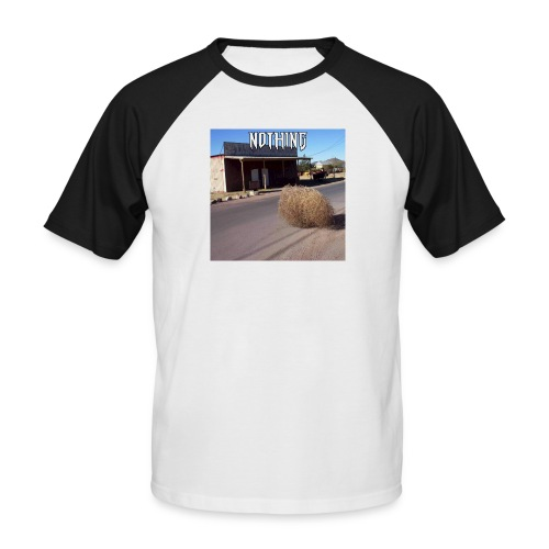 NOTHING - T-shirt baseball manches courtes Homme