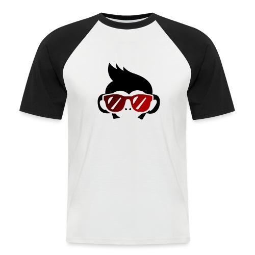 Geek Monkey 2 - Camiseta béisbol manga corta hombre