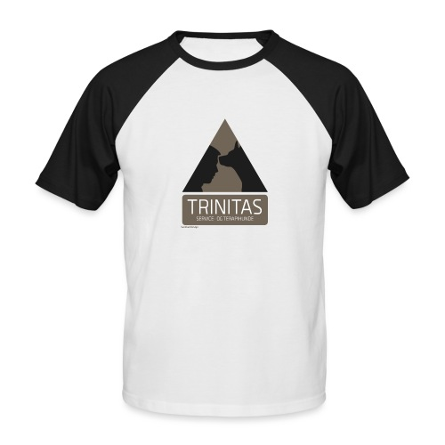 Trinitas Shirts - Kortærmet herre-baseballshirt