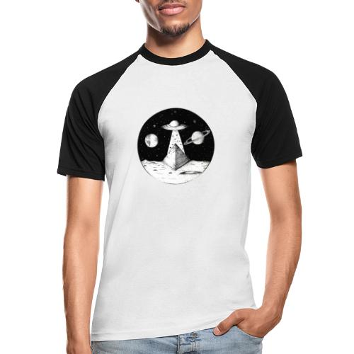 Lune - T-shirt baseball manches courtes Homme