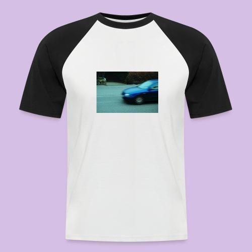 BLUE CAR - Kortärmad basebolltröja herr