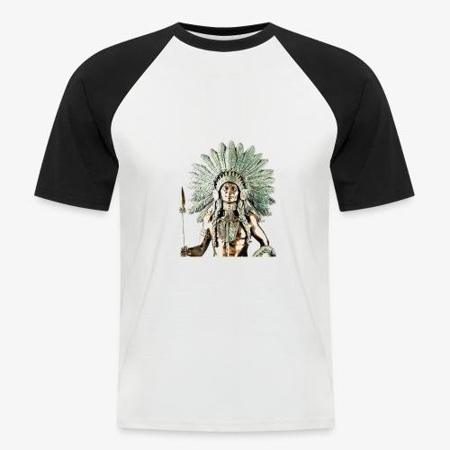 Sioux Warrior - Camiseta béisbol manga corta hombre