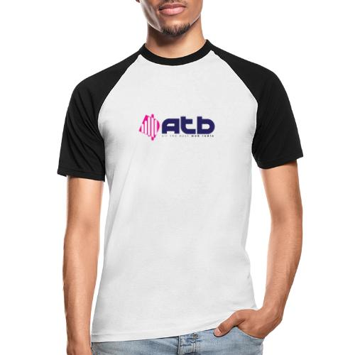 radio logo 2 - Men's Baseball T-Shirt