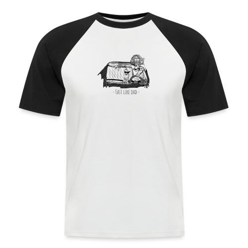 Fast like dad - Kortærmet herre-baseballshirt