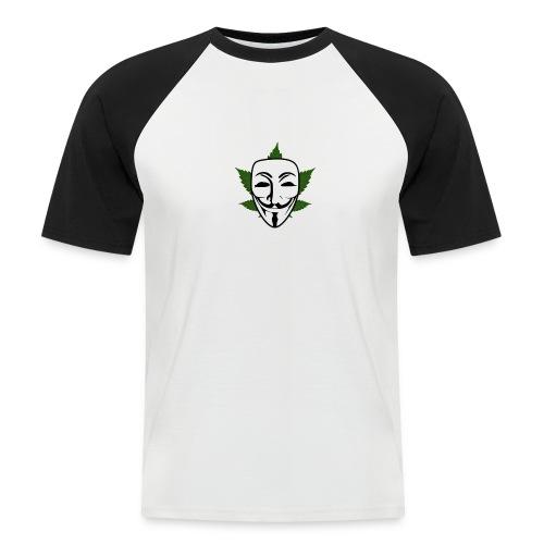 Anonymous - Mannen baseballshirt korte mouw