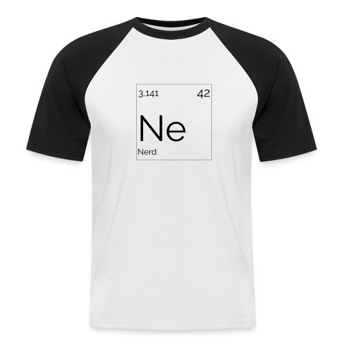 Mendeleïev Nerd - T-shirt baseball manches courtes Homme