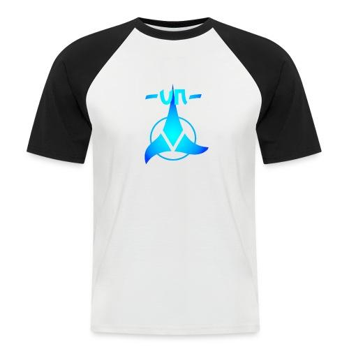 UNNICK Logo - Männer Baseball-T-Shirt