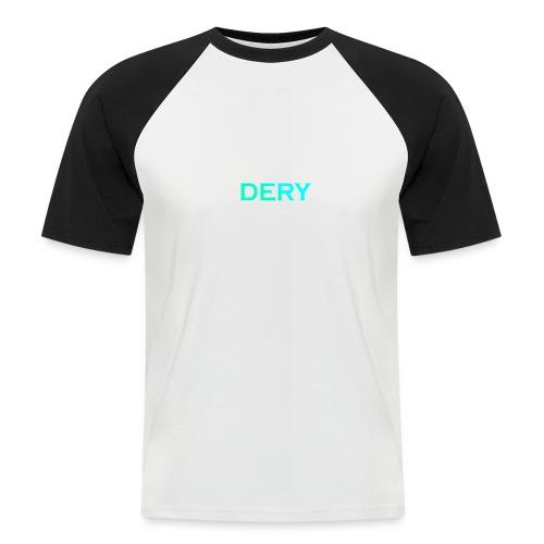 DERY - Männer Baseball-T-Shirt