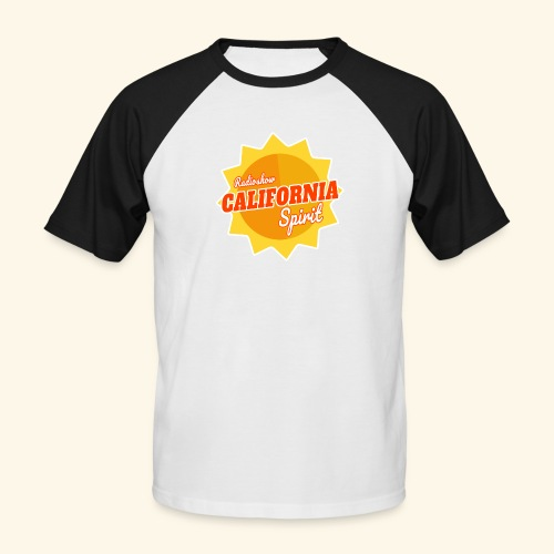 California Spirit Radioshow - T-shirt baseball manches courtes Homme