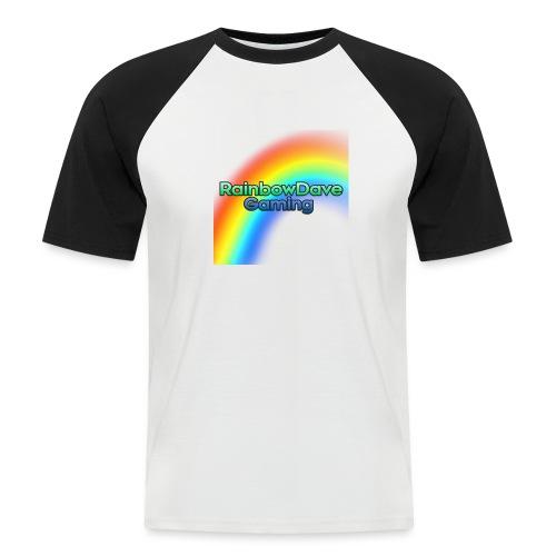 RainbowDave Gaming Logo - Men's Baseball T-Shirt