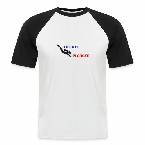 devise plongée - T-shirt baseball manches courtes Homme