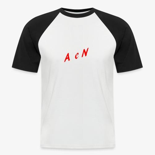 AxelNL - ROOD - Mannen baseballshirt korte mouw
