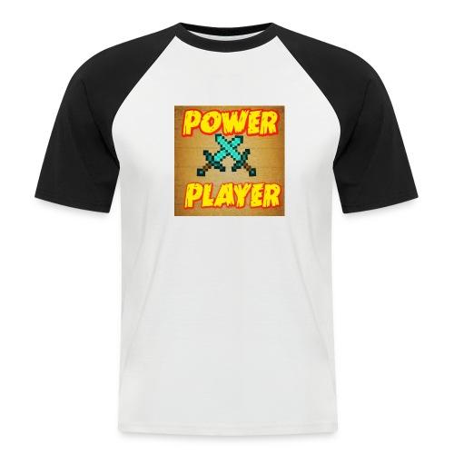 NUOVA LINEA POWER PLAYER - Maglia da baseball a manica corta da uomo