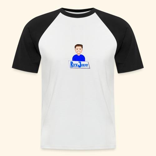 RickJeremymerchandise - Mannen baseballshirt korte mouw