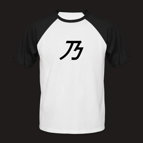 B Logo - Kortærmet herre-baseballshirt