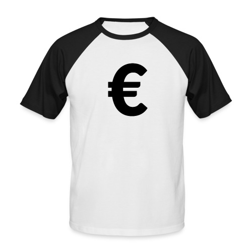 EuroBlack - T-shirt baseball manches courtes Homme