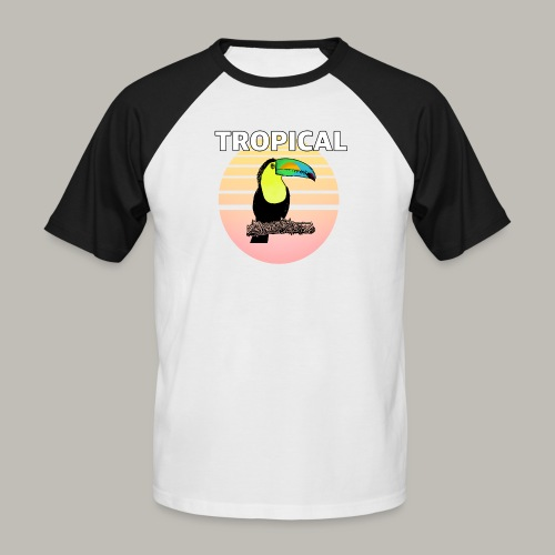 Toucan in the sun - T-shirt baseball manches courtes Homme