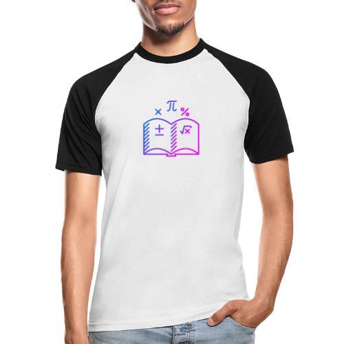 Wiskunde Boek - Mannen baseballshirt korte mouw