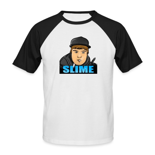 Egen SlimePlays Klær - Kortermet baseball skjorte for menn