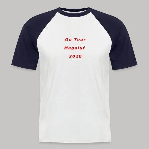 On Tour In Magaluf, 2020 - Printed T Shirt - Men's Baseball T-Shirt