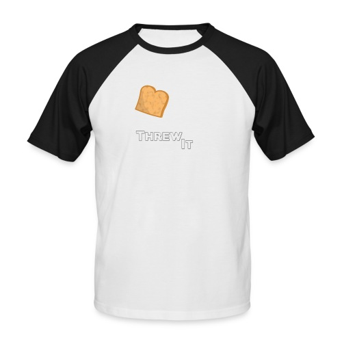 Toast - Männer Baseball-T-Shirt