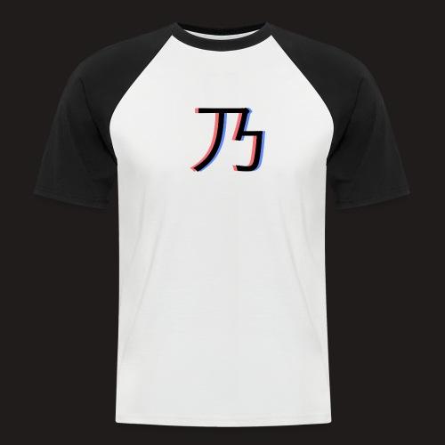 3D Logo - Kortærmet herre-baseballshirt