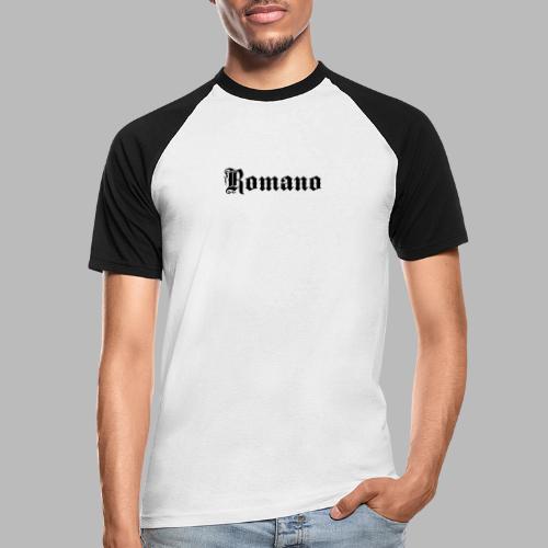 romano - Kortärmad basebolltröja herr