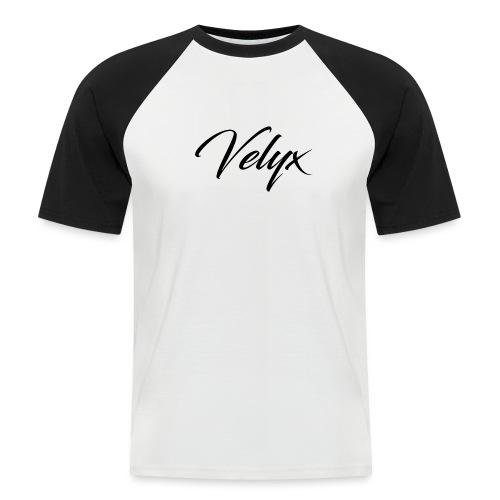 Velyx - Maglia da baseball a manica corta da uomo