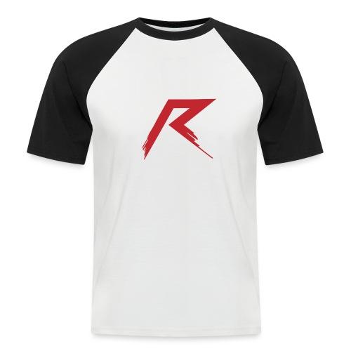 Raffie Logo - Mannen baseballshirt korte mouw