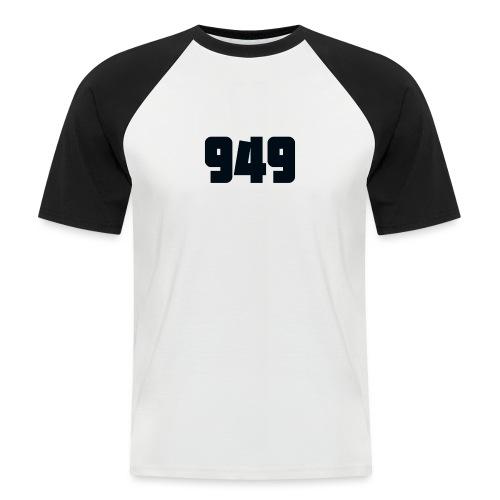 949black - Männer Baseball-T-Shirt