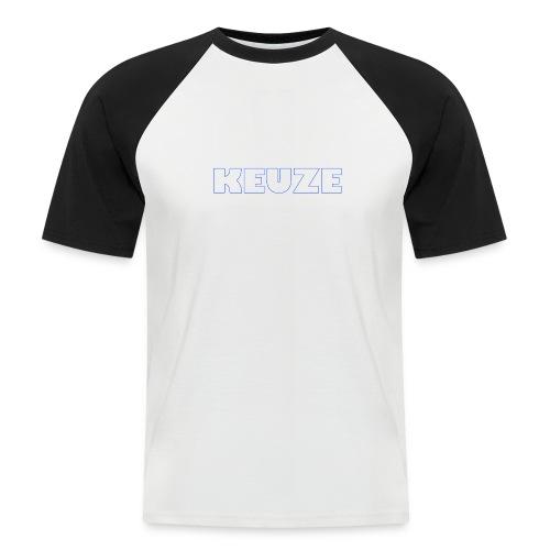 OFFICIAL KEUZEBE MERCHANDISE - Mannen baseballshirt korte mouw