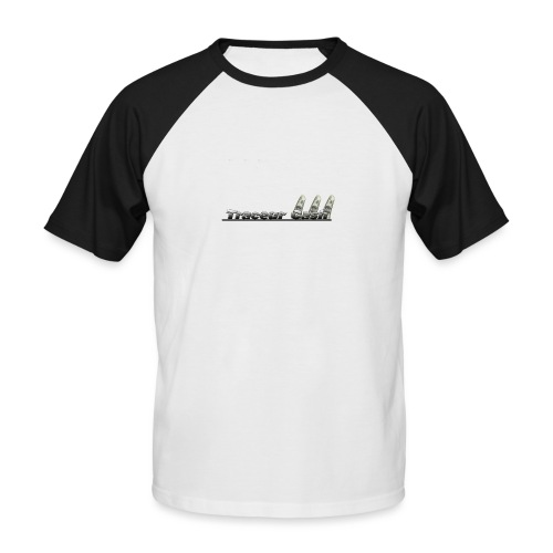 Traceur Cash - T-shirt baseball manches courtes Homme