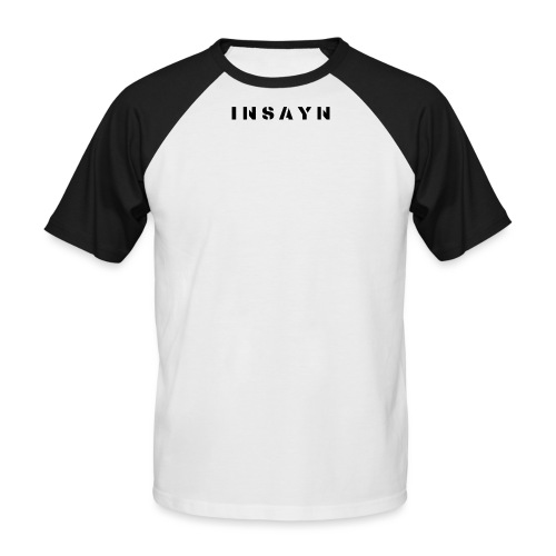 I n s a y n - T-shirt baseball manches courtes Homme