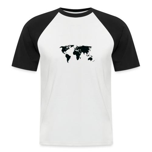 World - Kortærmet herre-baseballshirt