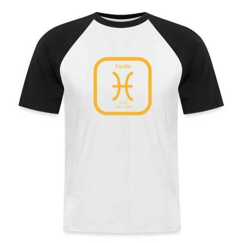 Horoskop fish12 - Koszulka bejsbolowa męska