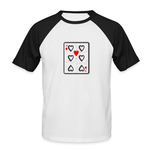 LOVERS N7 - T-shirt baseball manches courtes Homme